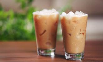 Холодный кофейный фраппе (фраппучино)