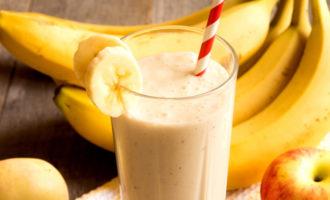 Бананово-грушевый смузи
