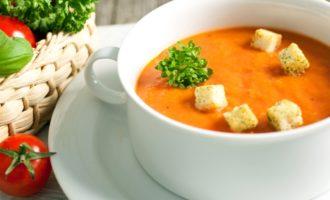 Нежный суп-пюре из тыквы с морковью