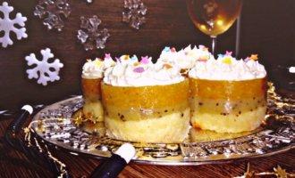 Пирожное «Новогодние фонарики»