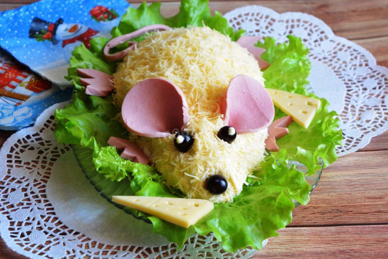 салаты в виде животных рецепты с фото экг состоянии