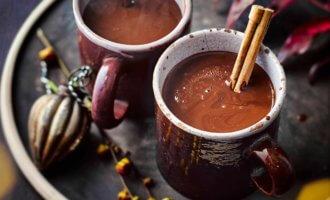 Шоколадный глинтвейн