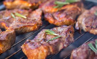Шашлык из свинины «по-питерски»