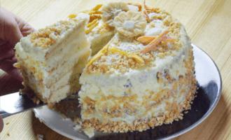 Торт «Кокосовая нежность»