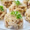 Салат из кальмаров с сыром и грецкими орехами