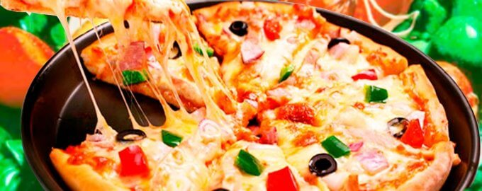 Пицца в микроволновке за 5 минут