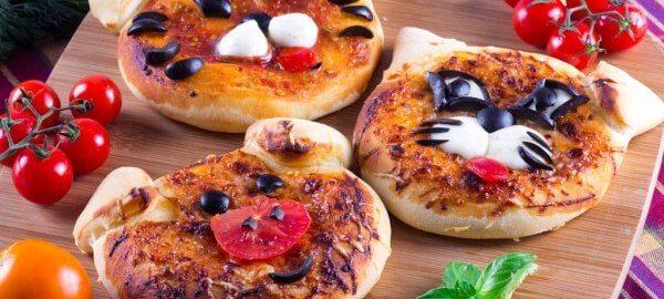 Детская мини-пицца