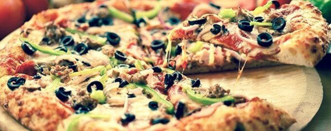Пицца на пиве