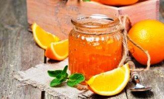 Апельсиновый джем с лимонным соком
