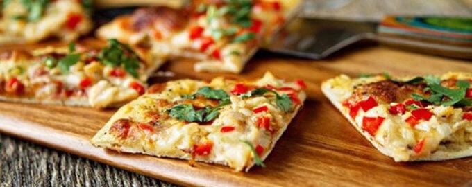 Пицца без муки