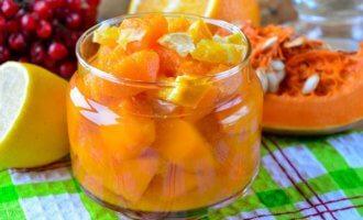 Диетическое варенье из тыквы с апельсином и лимоном