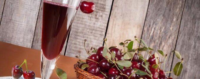 Крепленое вино из вишни