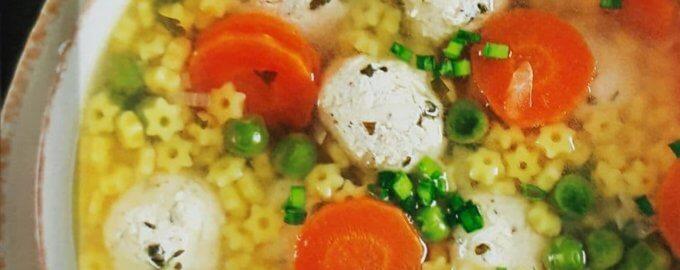 """Суп с фрикадельками от """"Макфа"""""""