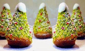 Пирожные «Ёлочки»