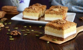 Творожные пирожные