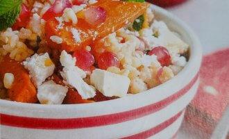 Салат с морковью и булгуром