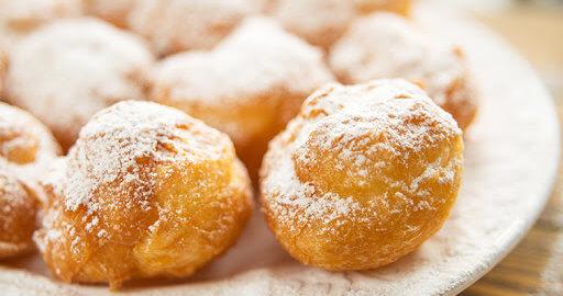 Заварные пончики