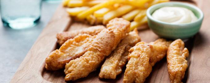 рыба фри по гречески